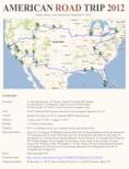 2012 Road Trip